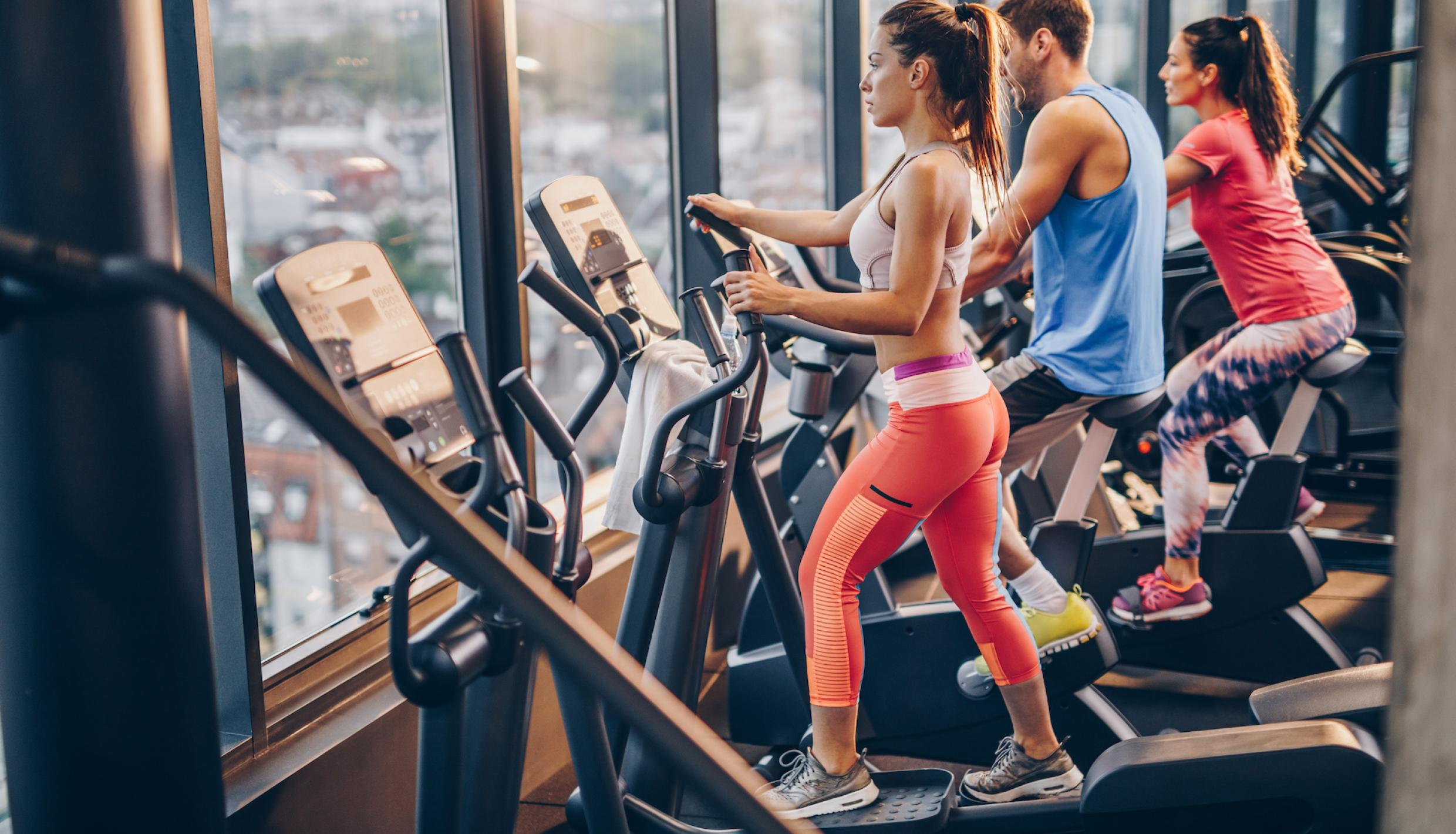 Elliptical Workout For Aerobic Exercise