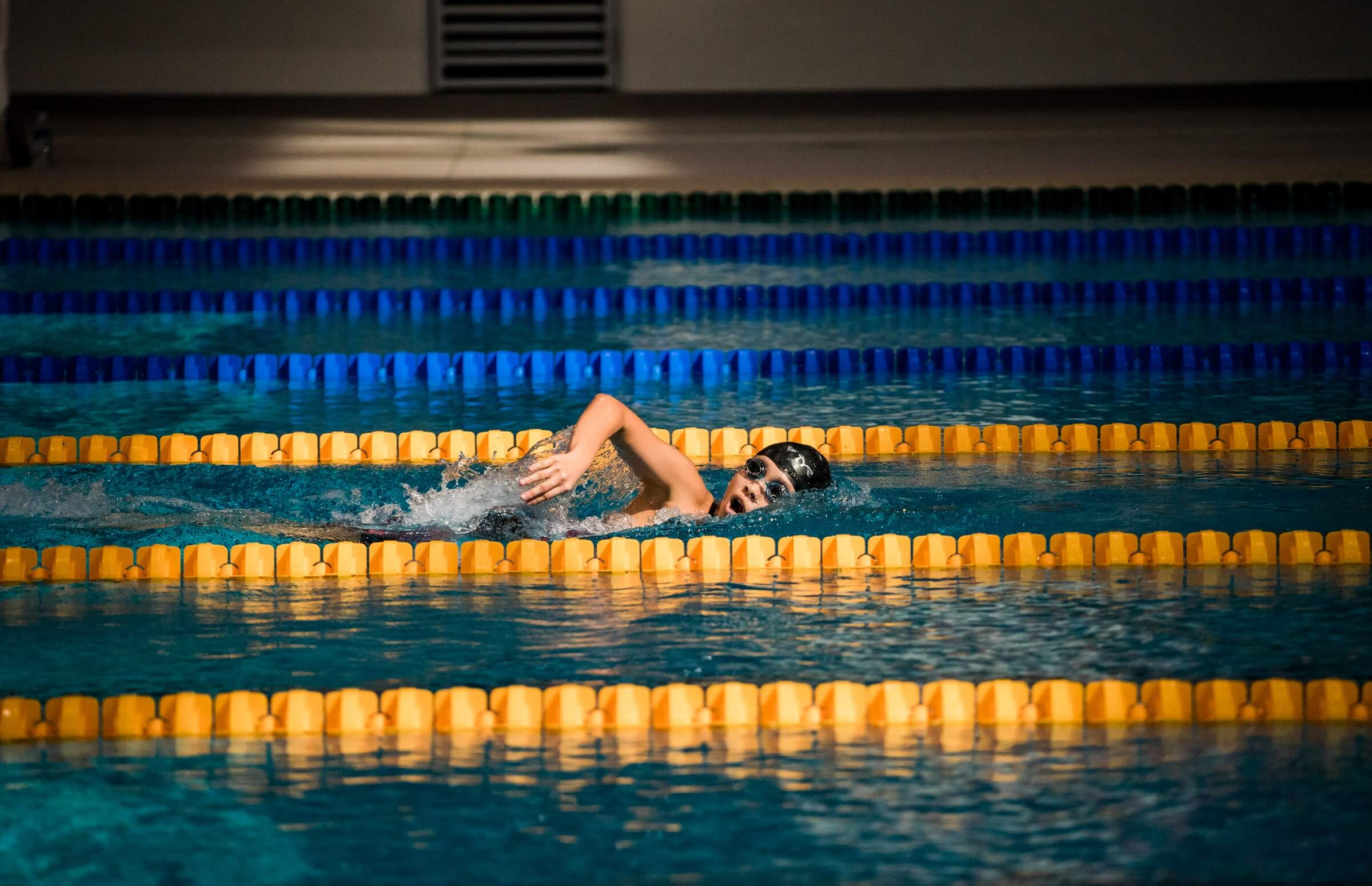 Swimming Aerobic Exercise.